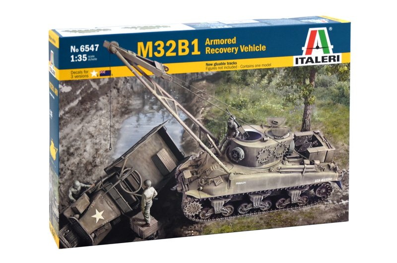 Tanque 1/35 M32B1 Armored Recovery vehicle - ITALERI referencia IT6547 IT6547