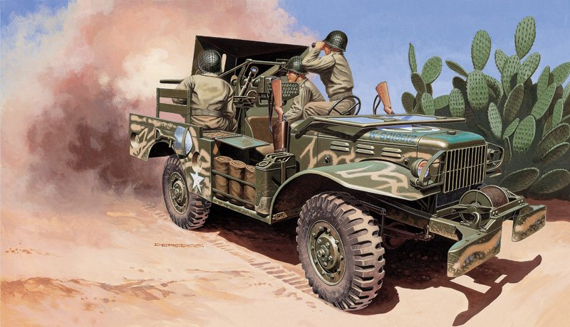 Camion militar 1/35 M6 Gun Motor Carriage WC-55 - ITALERI referencia IT6555 IT6555