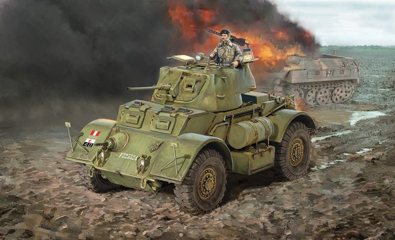 Tanque 1/35 STAGHOUND MK. I - ITALERI referencia IT6552 IT6552