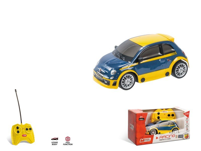 COCHE RC FIAT ABARTH 500 RALLY 1/28 MONDO referencia 63431 63431