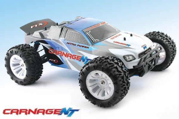 Coche rc monster truck 1/10 Carnage nitro RTR FTX referencia FTX5540 FTX5540