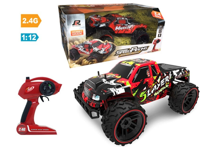 Coche rc monster truck slayer 1/12 referencia QY1842A QY1842A