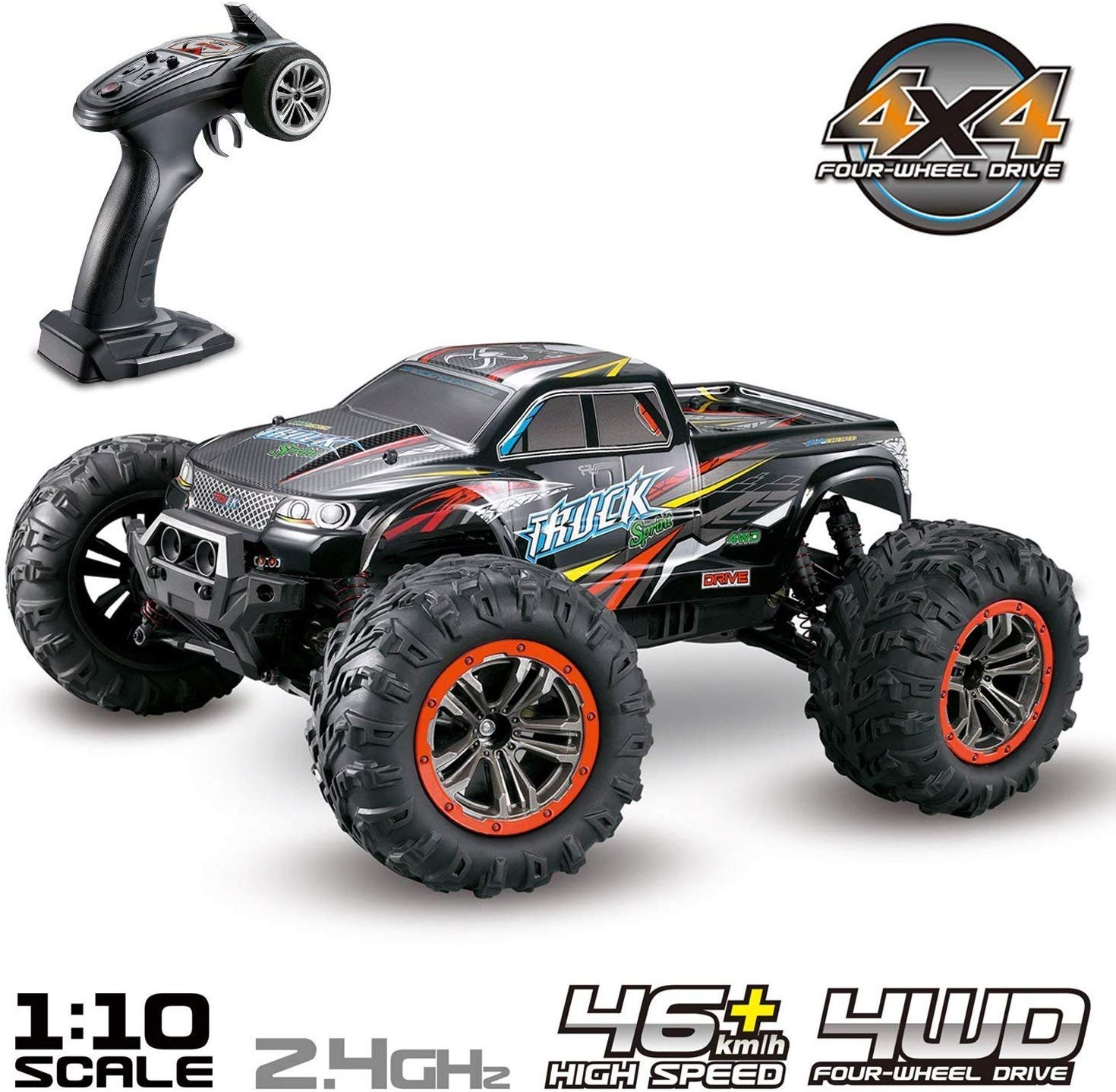 MONSTER TRUCK XLH 9125 1/10 RTR 46 KM/H referencia 9125 9125