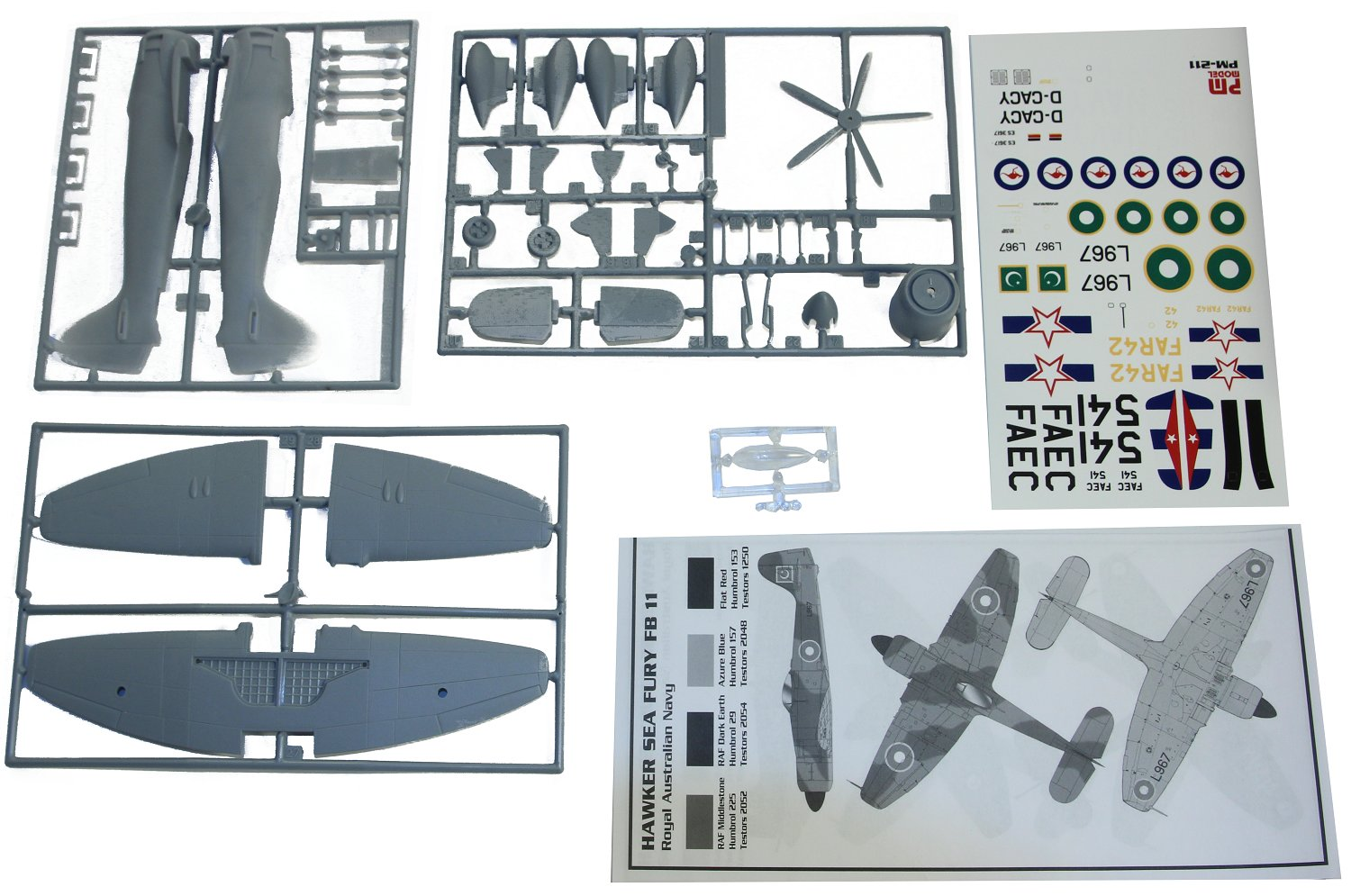 Northrop F-5B Freedom Fighter 1:72 referencia PM-204 PM-204