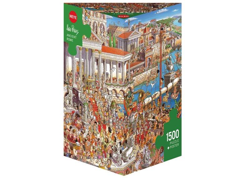 Puzzle 1500 piezas, Ancient Rome, Prades (Triangular) referencia 29791 29791