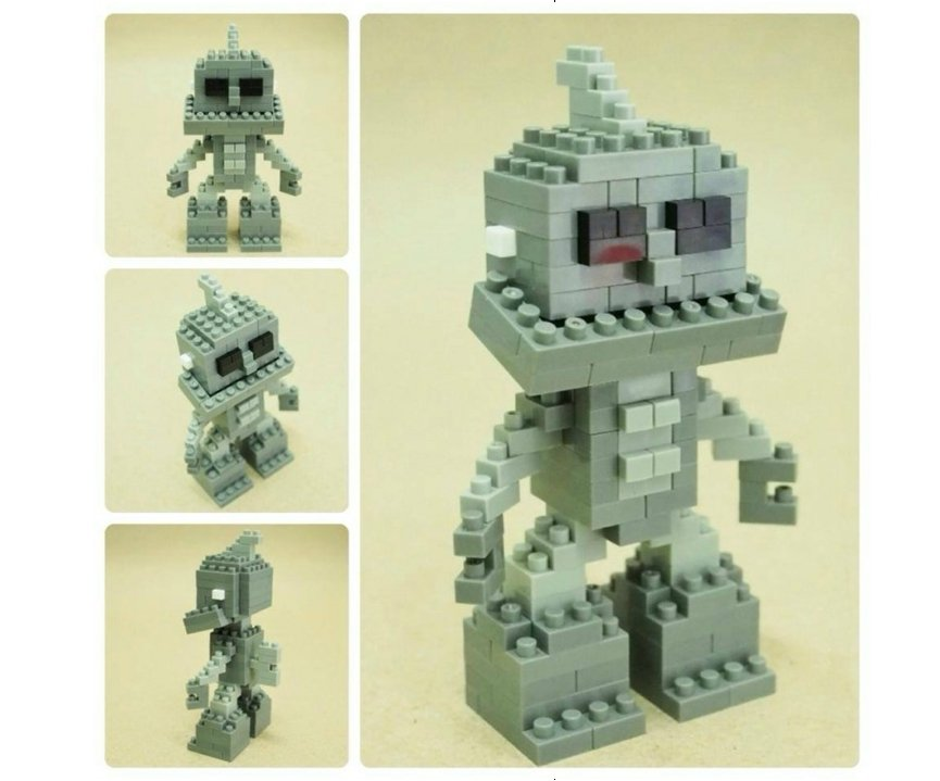 ROBOT RETRO C X-BLOCK 4 MM referencia XJ9675C XJ9675C