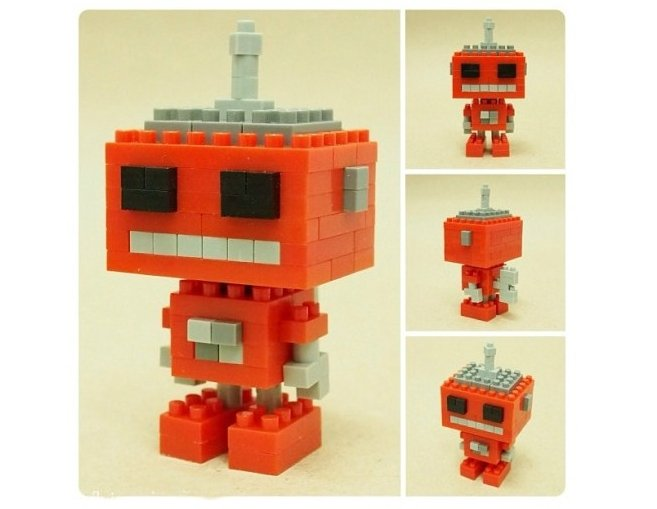 ROBOT RETRO C X-BLOCK 4 MM referencia XJ9675D XJ9675D