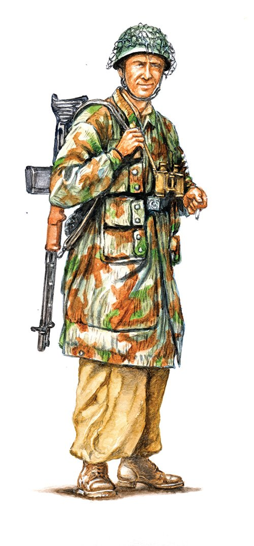 SOLDIERS 1/72 WWII-  German paratroopers (tropical uniform) referencia IT6134 IT6134