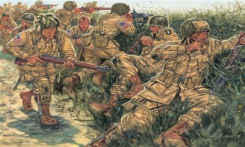 SOLDIERS 1/72 'WWII - US PARATROOPERS referencia IT6063 IT6063
