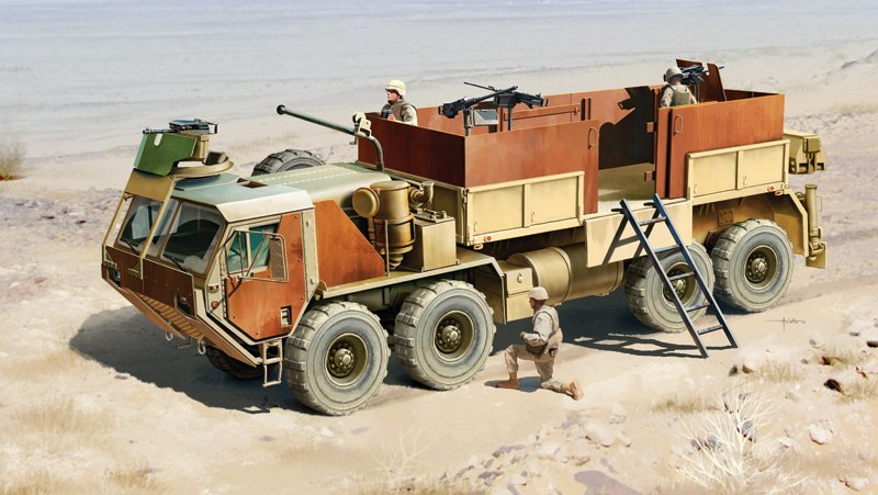 Tanque 1/35 HEMTT Gun Truck referencia IT6510 IT6510