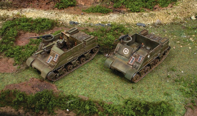 Tanques 1/72 M7 Priest / Kangaroo  (2 Fast assembly) - ITALERI referencia IT7513 IT7513