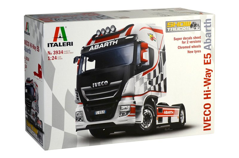 "TRUCK 1/24 Iveco Hi-Way E5 ""Abarth"" referencia IT3934 IT3934"
