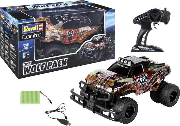 TRUCK WOLF PACK 1/10 RTR 2.4GHZ REVELL referencia 24533 24533