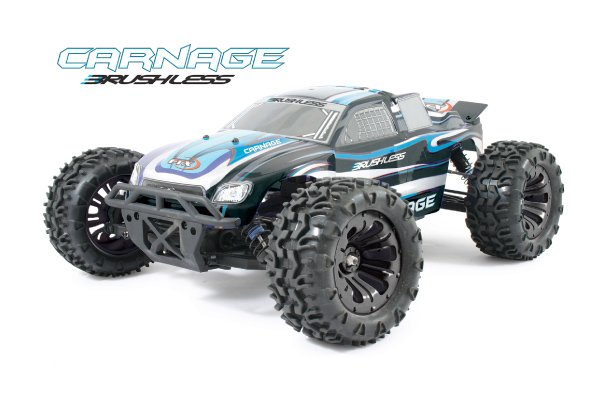 Coche rc monster truck 1/10 Carnage brushless RTR 4wd FTX referencia FTX5543 FTX5543