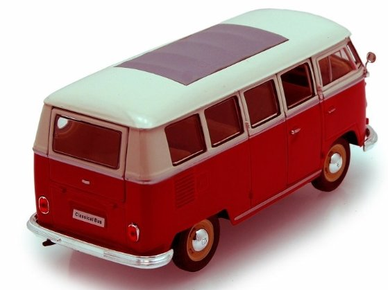 VOLKSWAGEN T1 BUS 1963 1/24 WELLY referencia 22095 22095